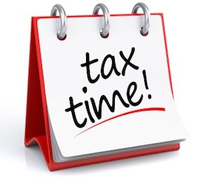 Tax Time calendar, CPA tax accountant Melbourne FL