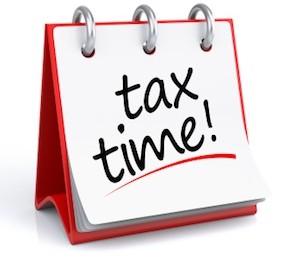 Tax Time calendar, CPA tax accountant Melbourne FL